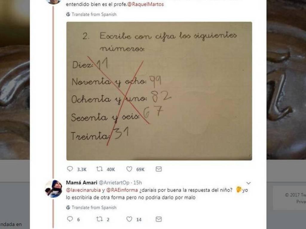 Resultado de imagen para ¿Por qué generó polémica la respuesta de niño a ejercicio de matemáticas?