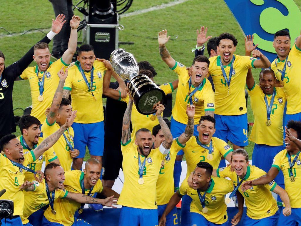 Resultado de imagen para brasil 3 peru 1 campeon copa america 2019