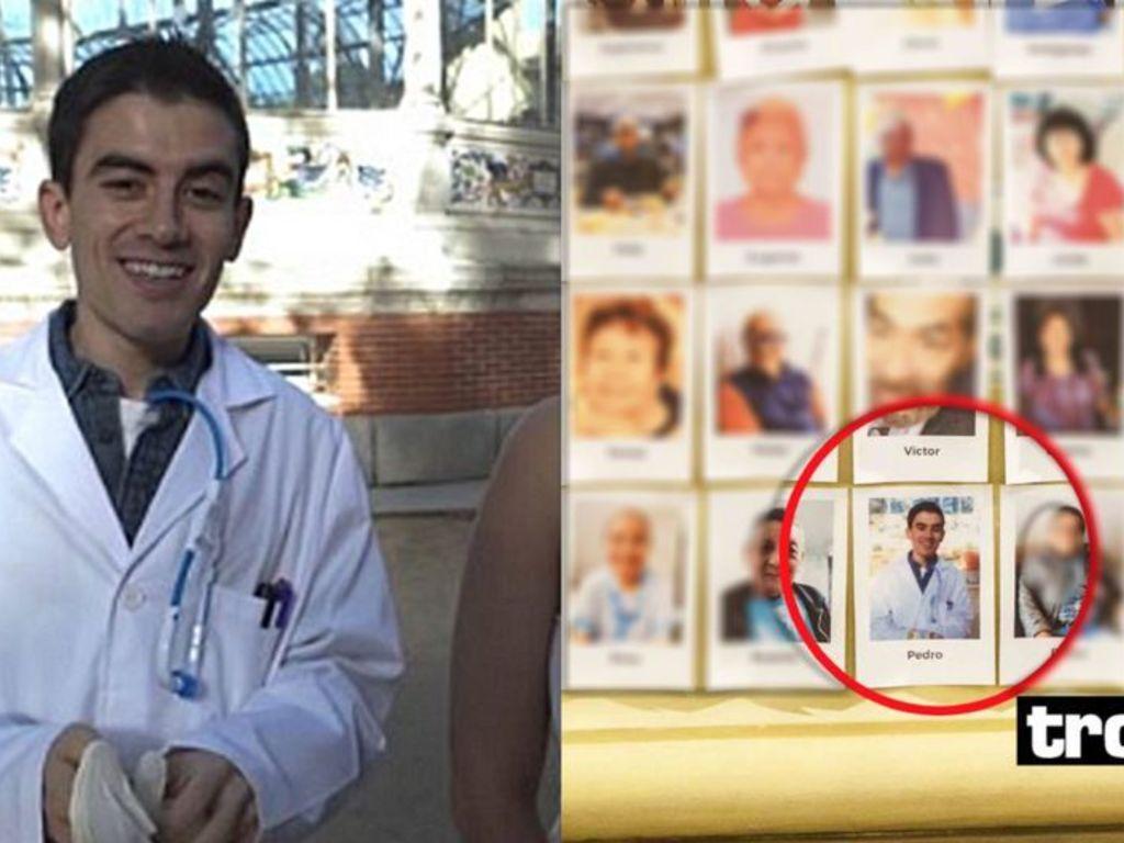 Actor Porno Con Enfermedad ponen la foto de un actor porno en misa de fallecidos por
